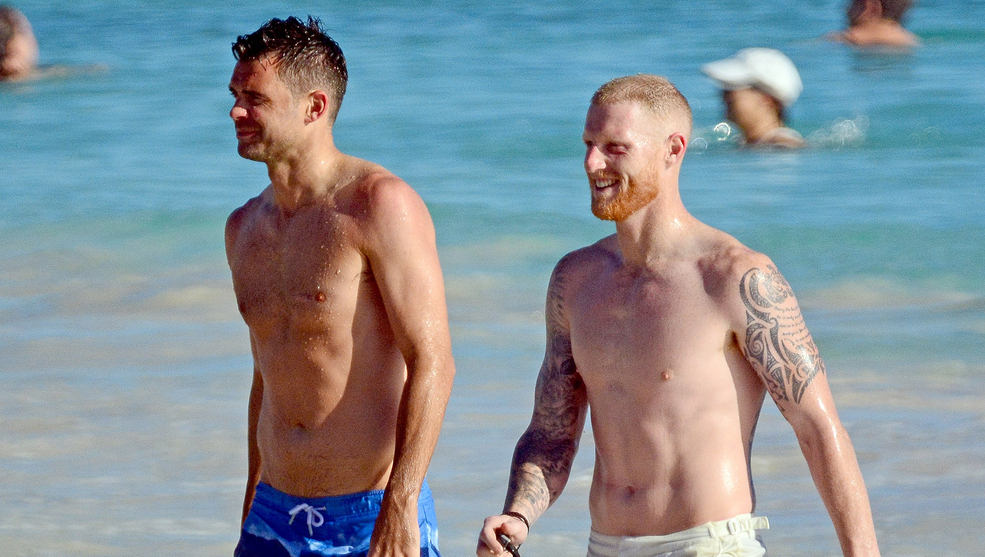 England-Cricket-Team-shirtless-barbados